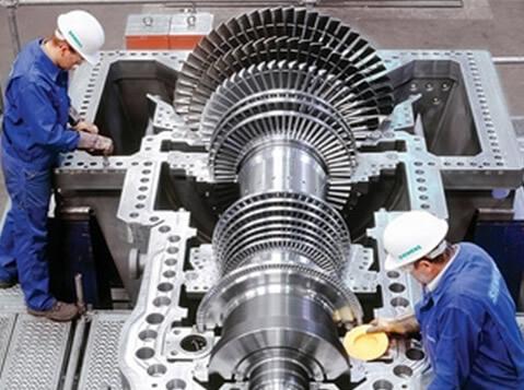 Produkteinsatz turbine